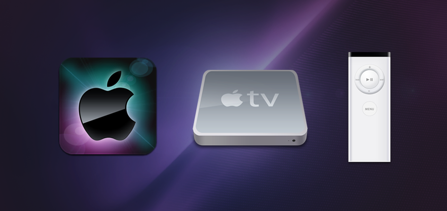 Apple TV Icons by SmarTramS