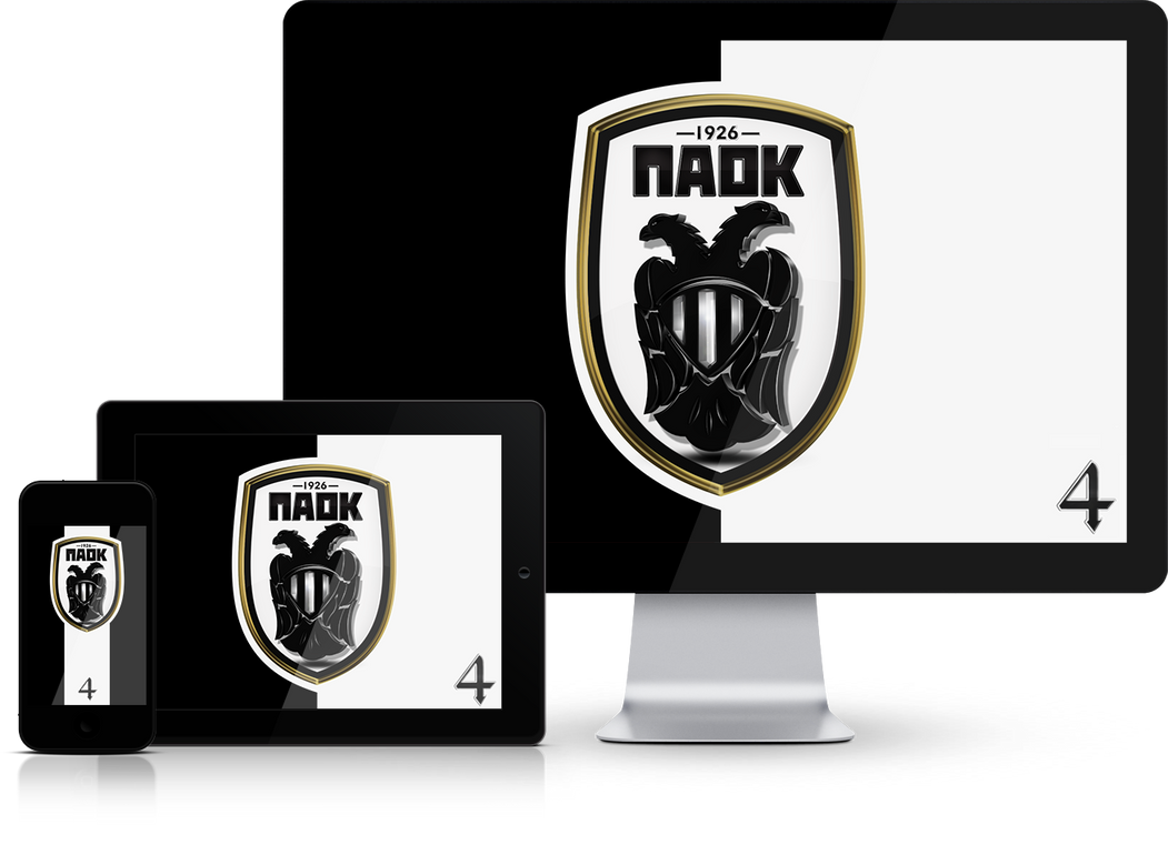PAOK FC Wallpaper Mobile Screensavers by graphomet
