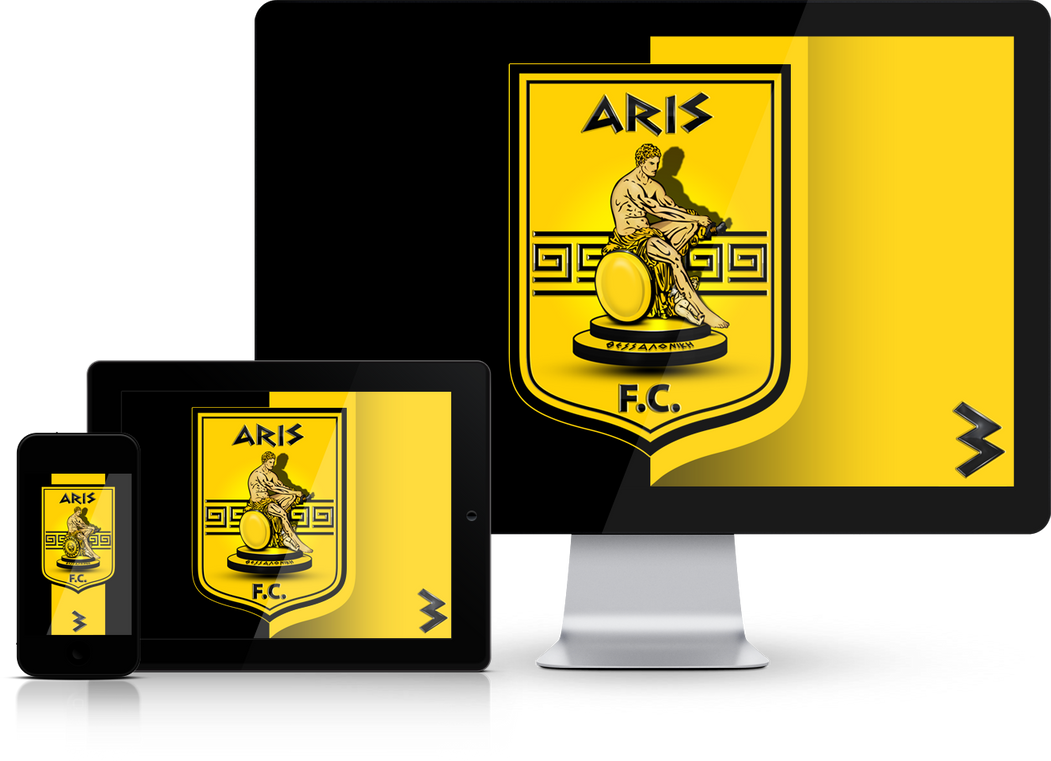 ARIS FC Wallpaper Mobile Screensavers by graphomet