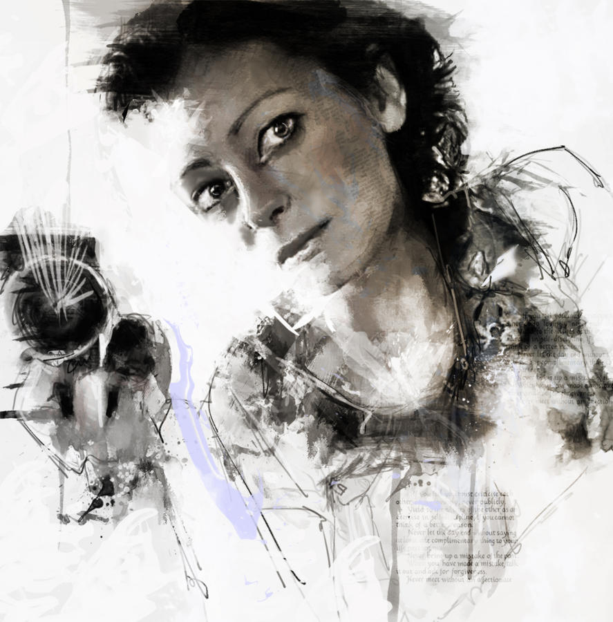 Anna Koutsidou by Fielderscenes