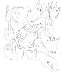 hands pratice