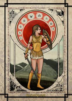 RuneQuest Art Nouveau
