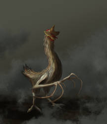 Mutant chicken by Jrusteli