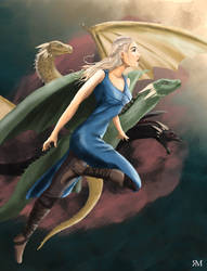Mother of Dragons final verson by Jrusteli