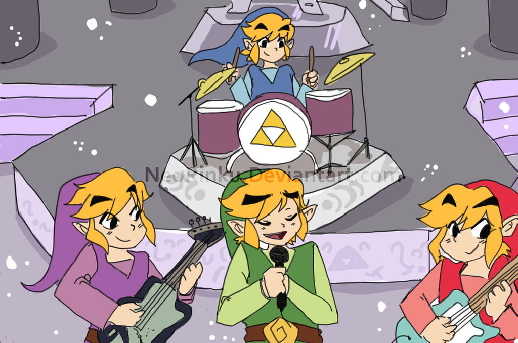 Link and the links by NeoRinku