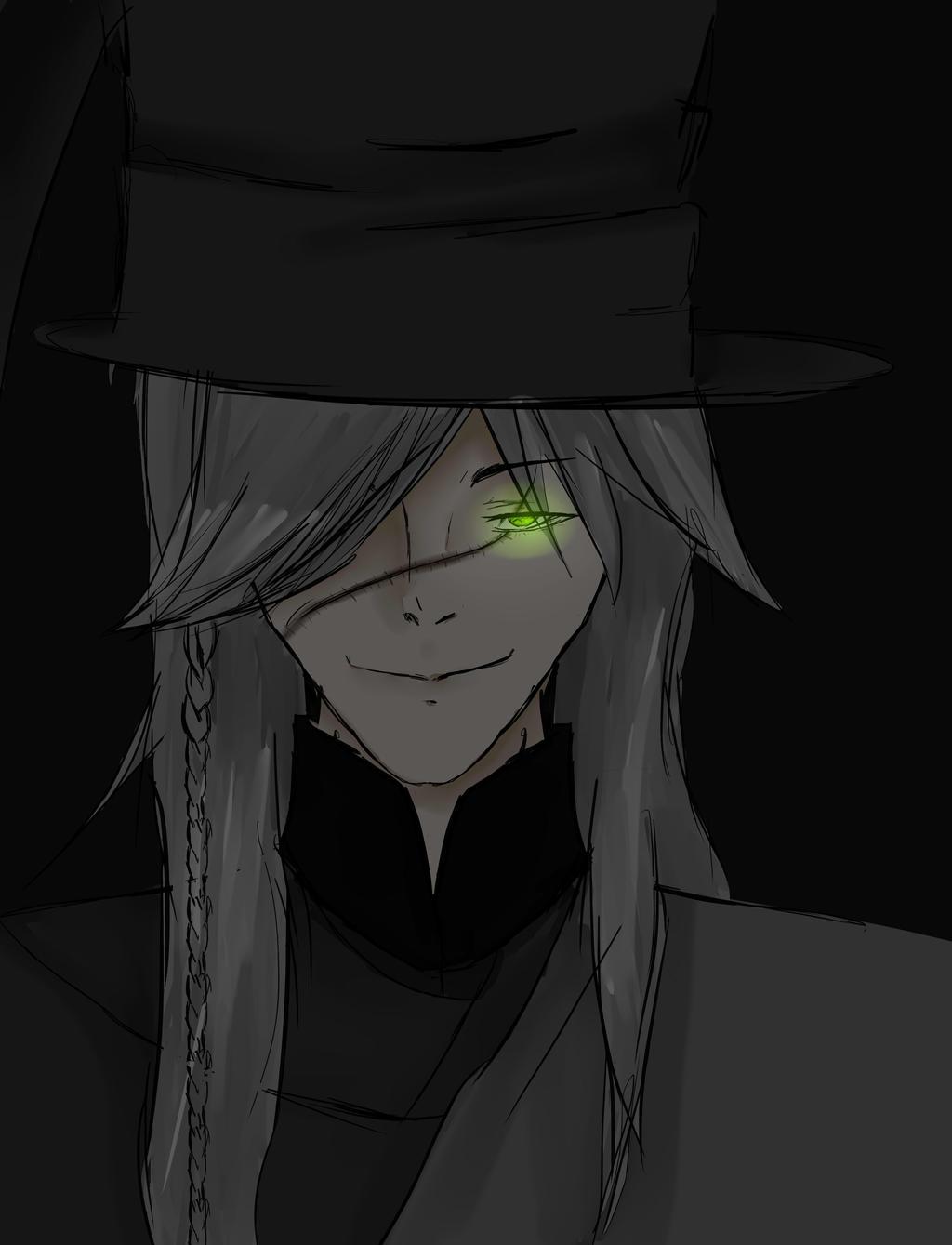 Undertaker Back Butler/kuroshitsuji by Cyborgclips