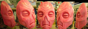 Dragon Priest Mask mold (finished)