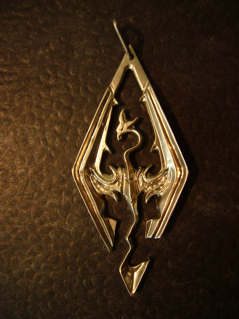 Skyrim Pendant by Corroder666
