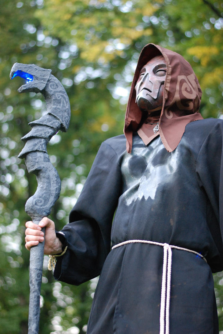 Necromancer Cosplay by Corroder666