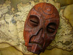 Wooden Mask (Dragon Priest Mask) from Skyrim