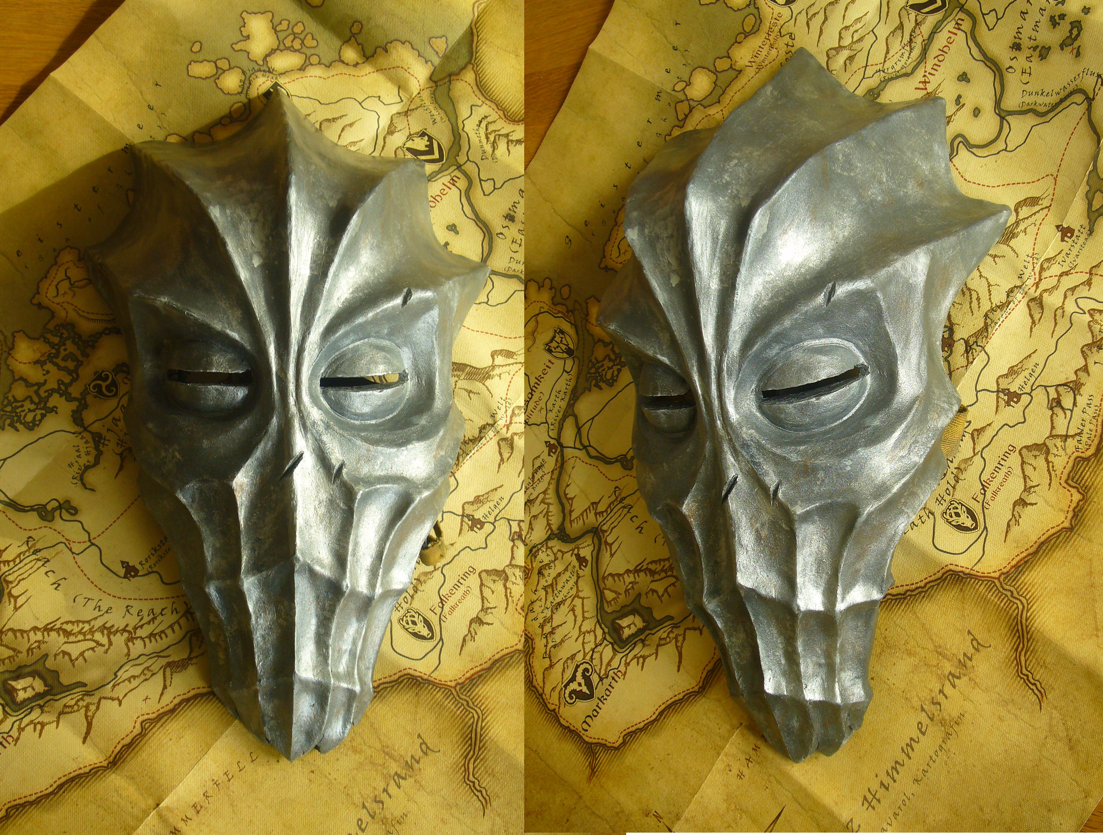 Zahkriisos - Dragon Priest Mask by Corroder666