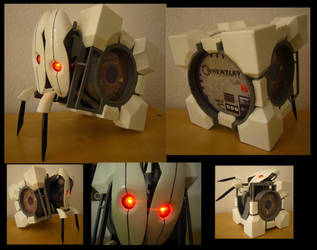 Frankenturret with twitching legs (Portal 2) by Corroder666