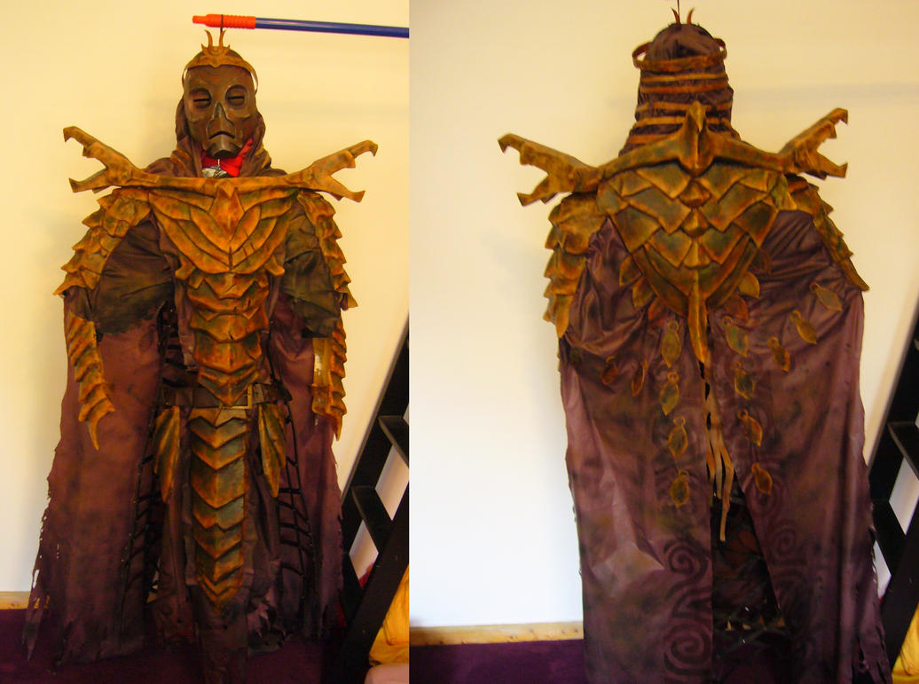 my Dragon Priest costume is finally finished by Corroder666