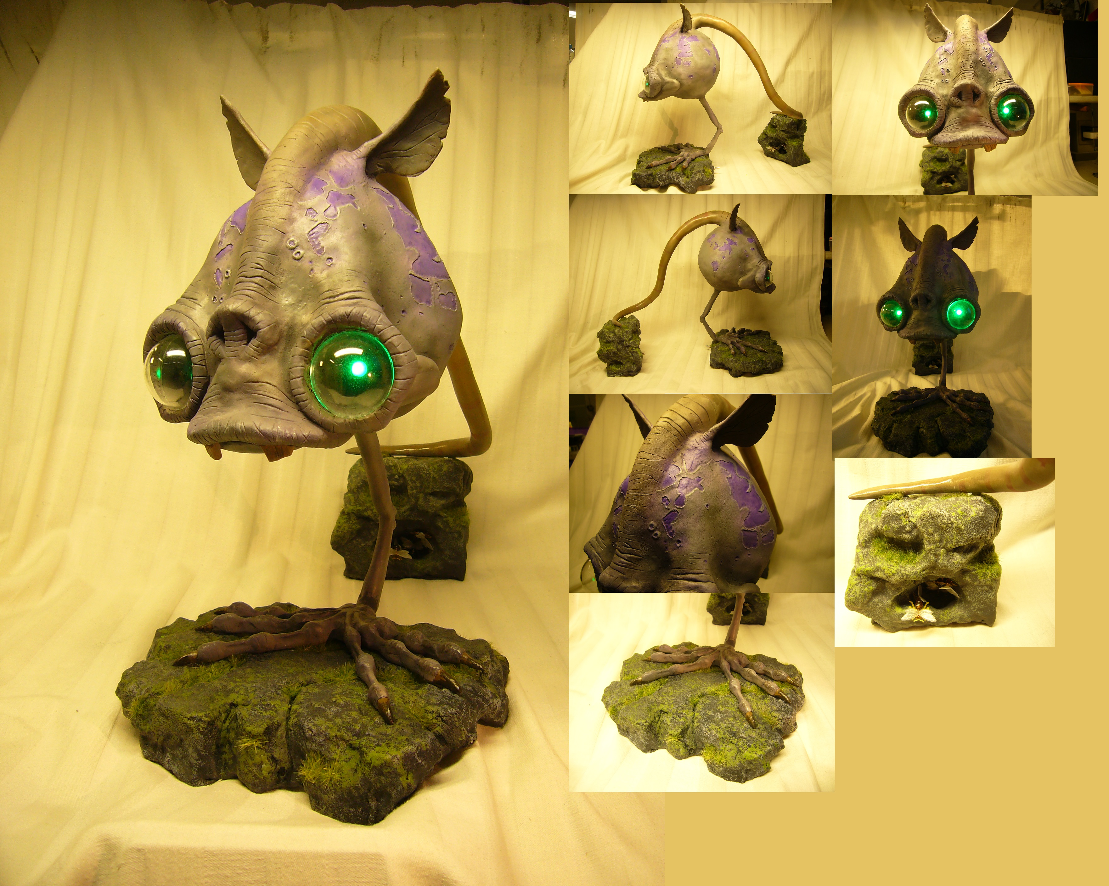 Oddworld: Munch's Oddysee - Rat replica by Corroder666