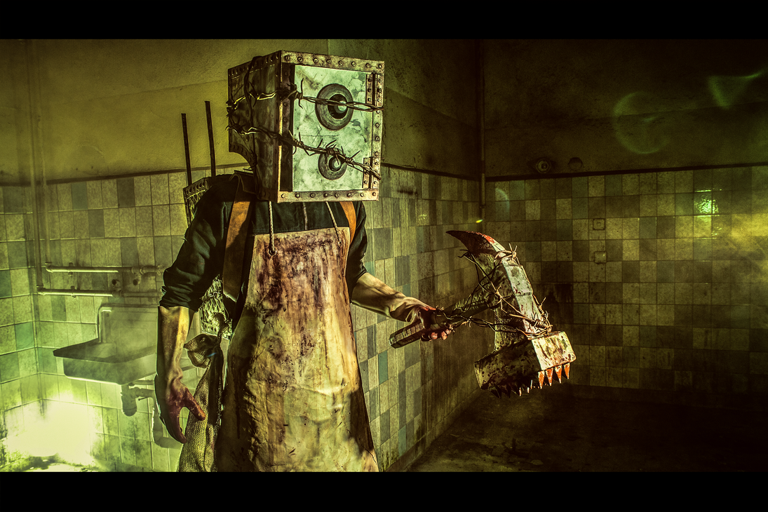 The Keeper (Boxman) Cosplay (from The Evil Within) by Corroder666 on DeviantArt