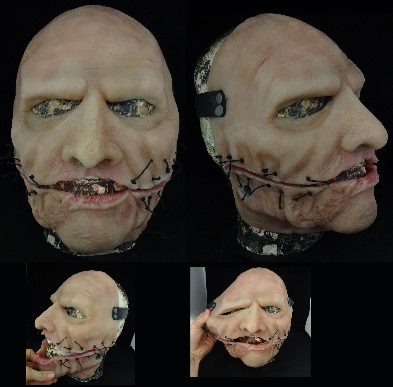 how to make a slipknot mask corey taylor