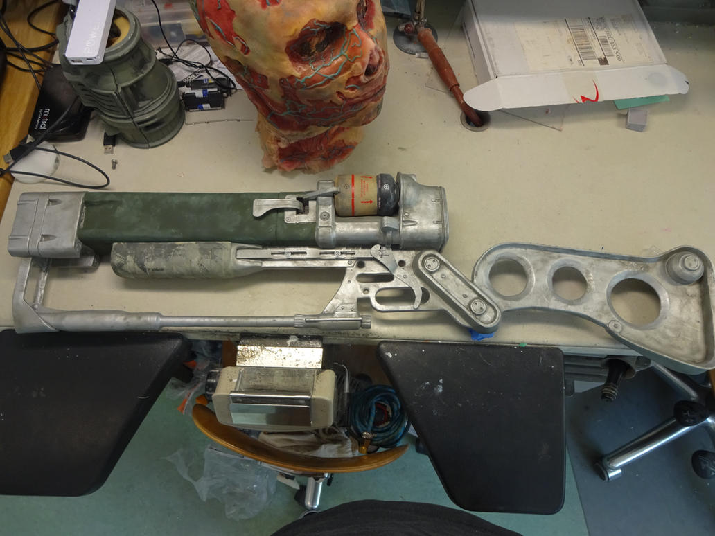 Fallout 3 Laser Rifle WIP by Corroder666