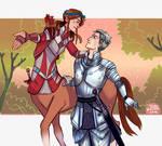 Centaur and Knight