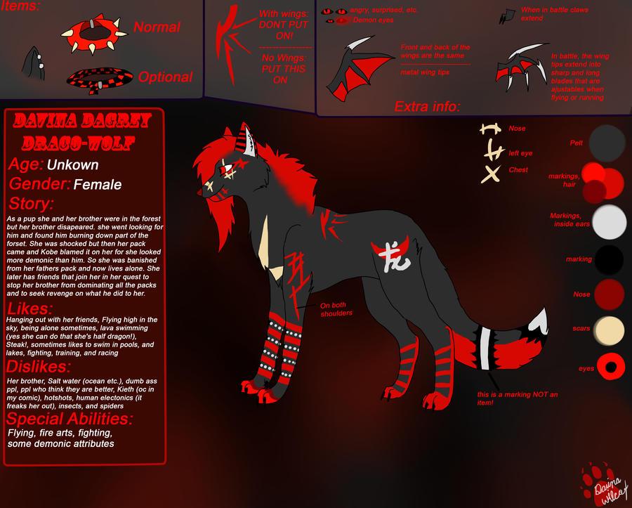 Davina's New Ref by F0rsak3n-F3ral