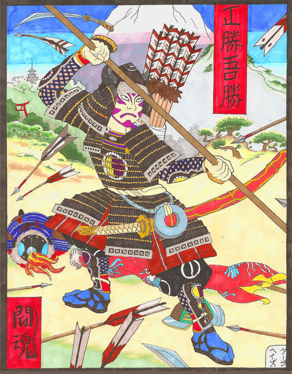 Kankurou Samurai Warrior By Lolitaninja