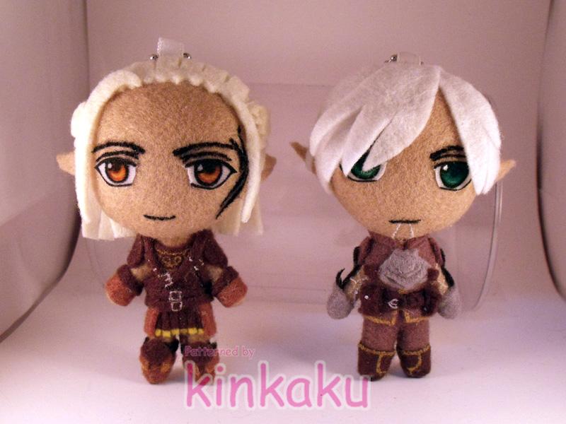 Dragon Age : Fenris n Zevran by kinkaku