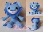 Plush - Blue Lion