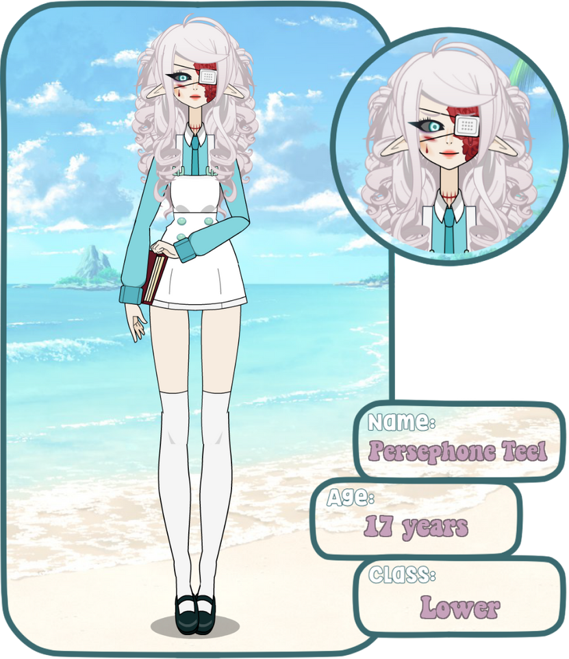 Persephone Teel | Bayshores Academy App by g0d-himself