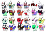 Adopts 5 points *open*