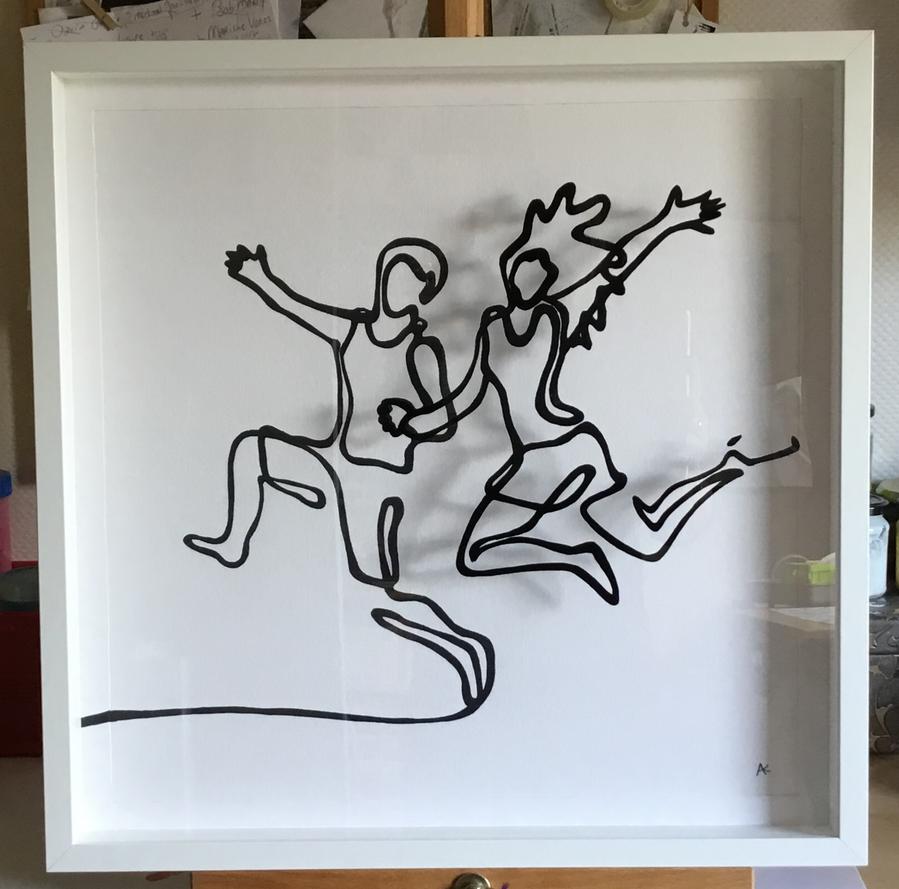 Running Apart Together by Vissen13