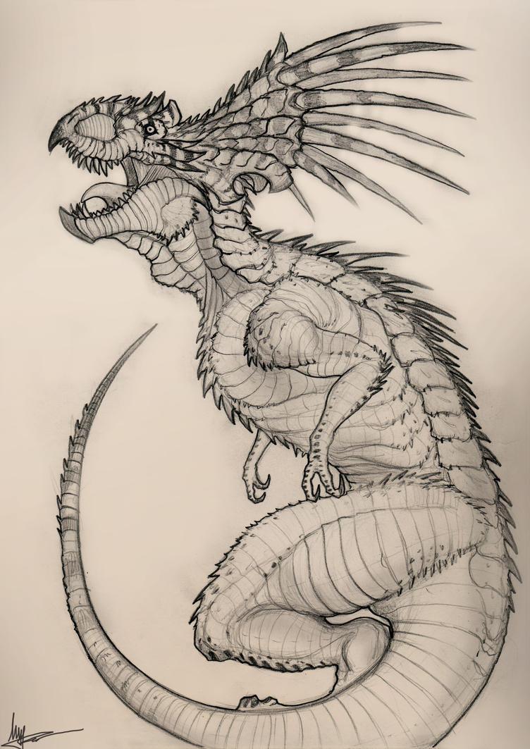 tropical dragon by KIRILL-PREDATOR