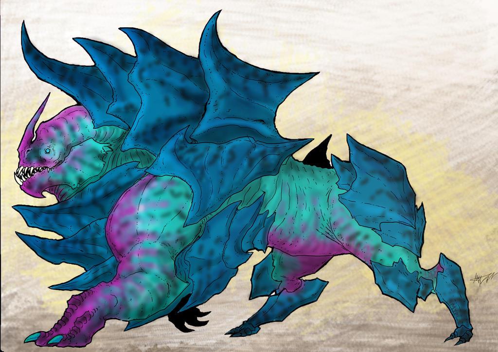 Brigandine creatures by KIRILL-PREDATOR