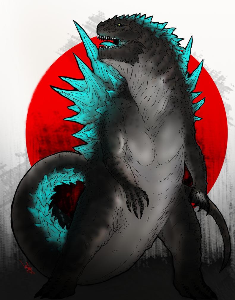 Godzilla by KIRILL-PREDATOR