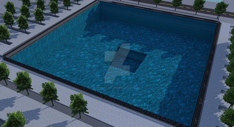 9 11 memorial reflecting pool by worldtradecenter on for Pool trading