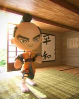 Little Samurai by Jonnathon