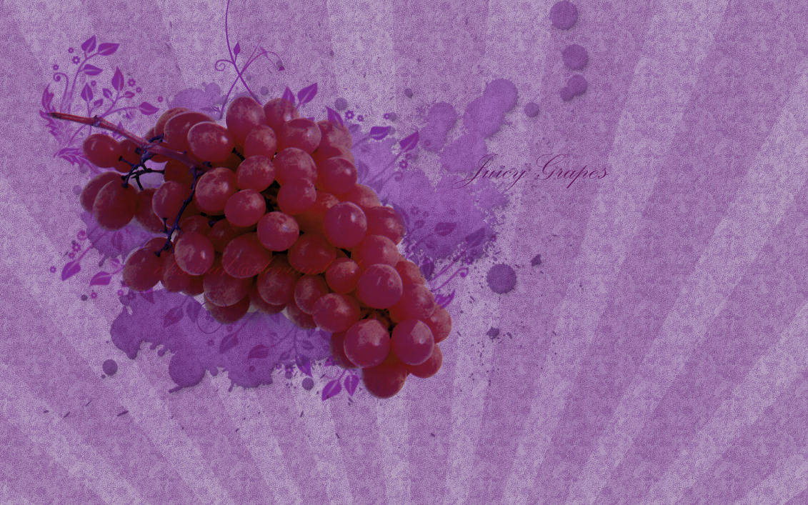 Purple Grapes Wallpaper by ohsarah on DeviantArt