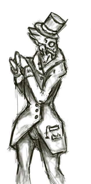 Gentleman Garrus, Esquire. by squid-ink-sorcery