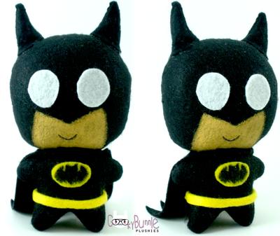 Batman Chibi by geeky-bunnie
