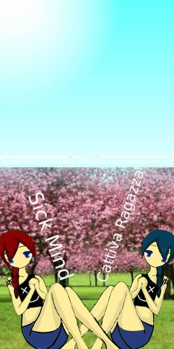 Sick y Cattiva by Sakura-Akatsutsumi