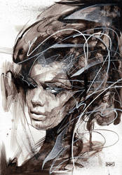 Abstracted face study by ART-BY-DOC