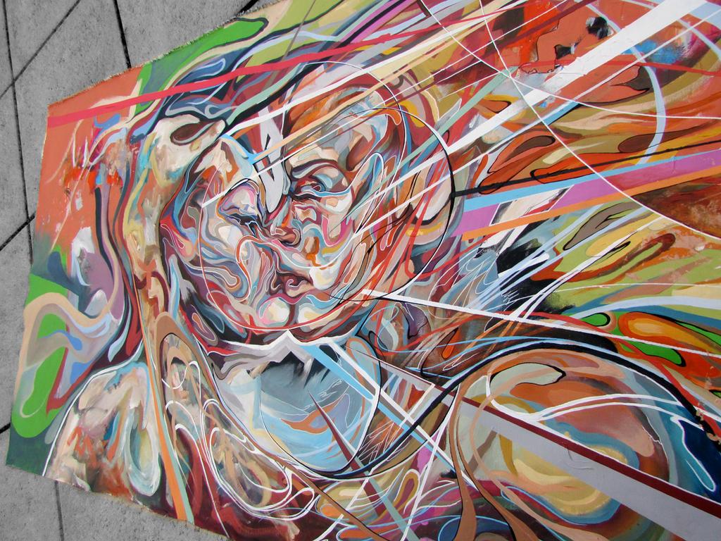 Kiss Work in progress by ART-BY-DOC