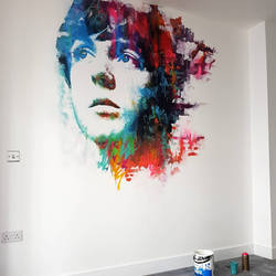 Paul Mccartney Mural