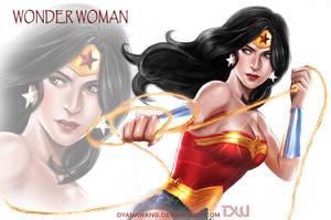 Wonder woman by DyanaWang
