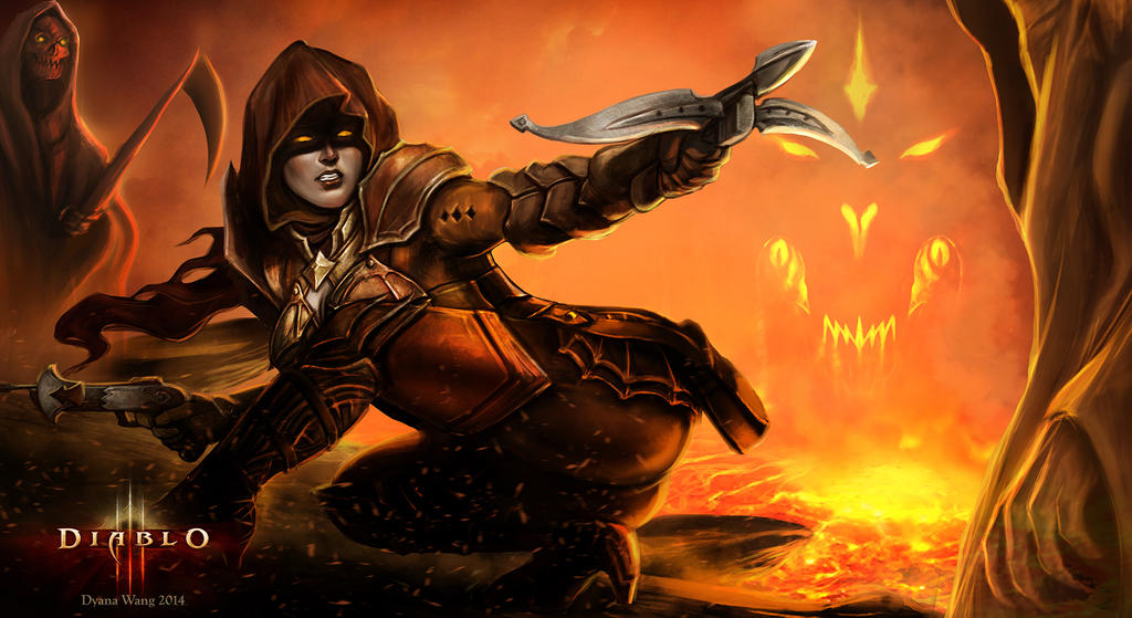 Diablo III Reaper of Souls - Demon Hunter by DyanaWang