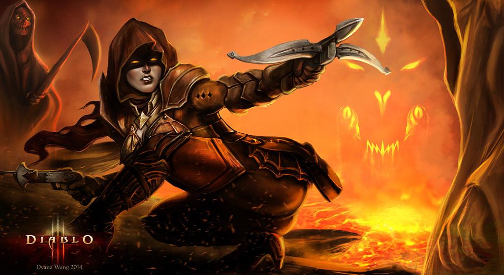 Diablo III Reaper of Souls - Demon Hunter by DyanaWang