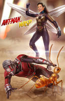 Ant-man and The Wasp by DyanaWang