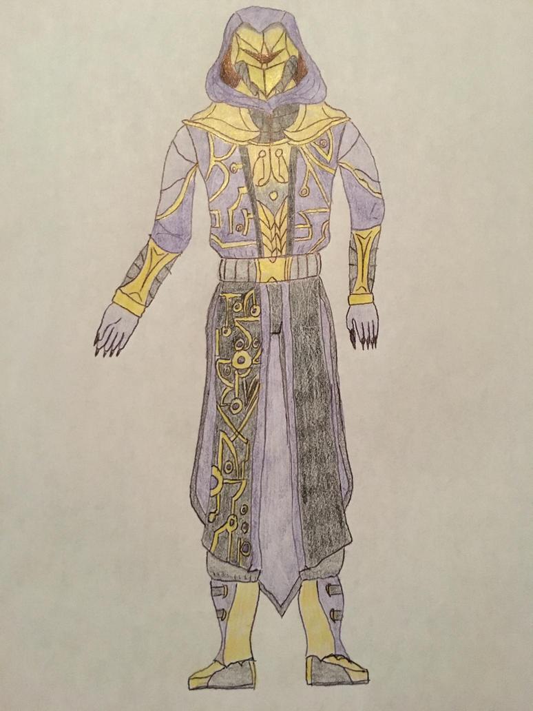 Necro Knight by DaedalusRedoudt