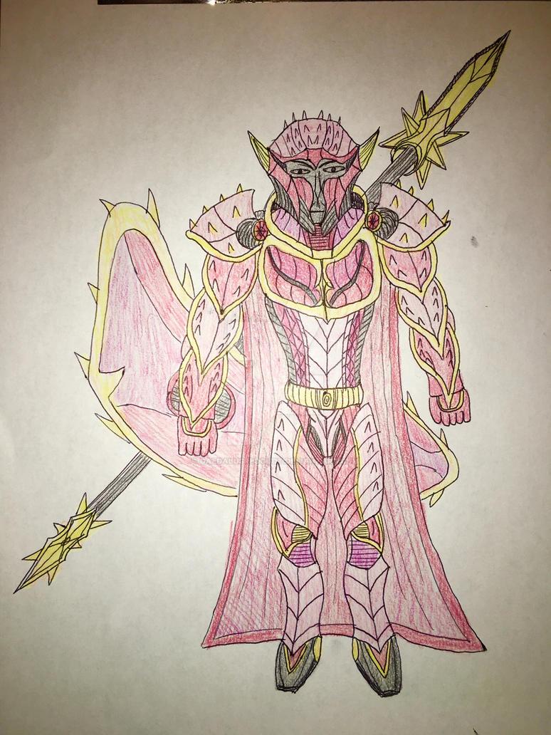 Rosen Knight by DaedalusRedoudt