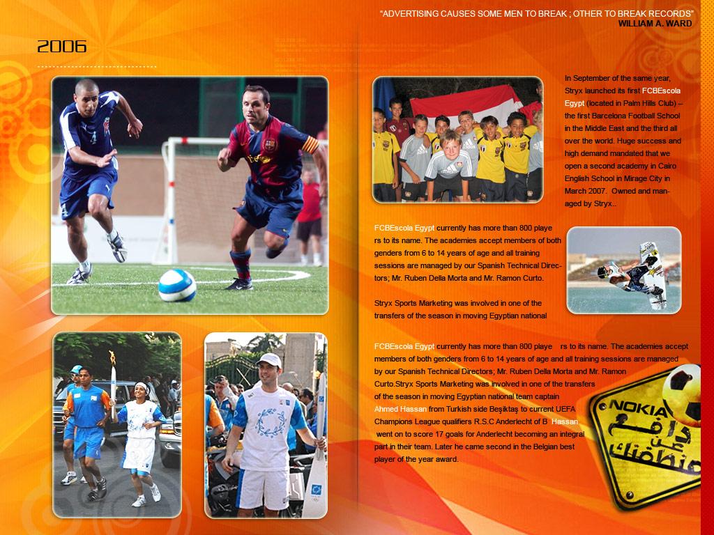 Stryx Sports E-brochure design by MaiEltouny on DeviantArt