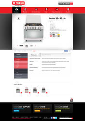 FRESH Egypt Appliance -  Product Details Page by MaiEltouny