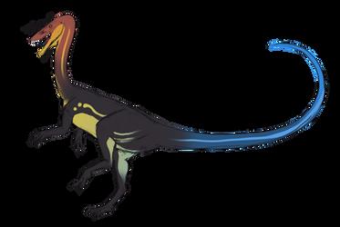 [Palaeoart] Dinovember: Coelophysis by MatthewOnArt